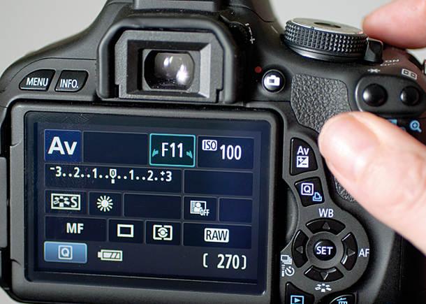 настройки фотоаппарата для макросъемки