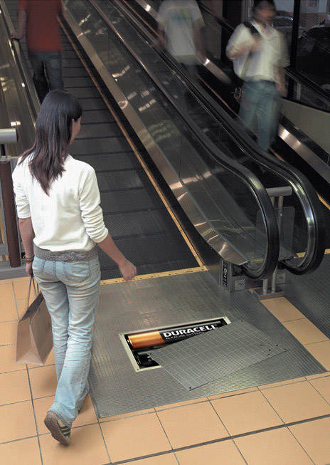 Duracell-Escalator