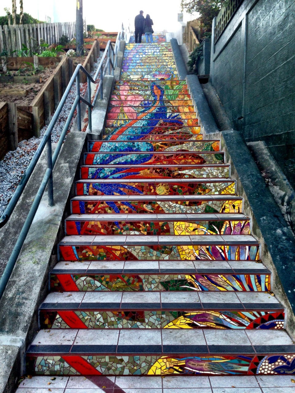 Mosaic-Staircase-in-Inner-Sunset-San-Francisco-USA-1