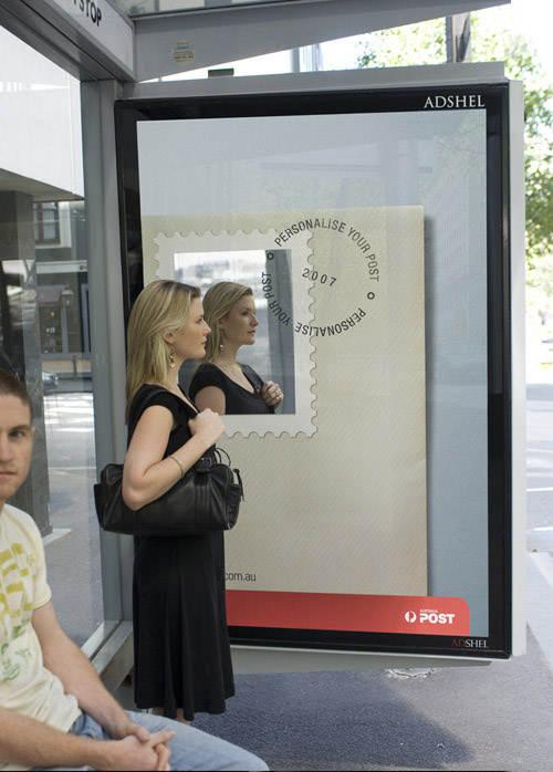 уникальные рекламные постеры
