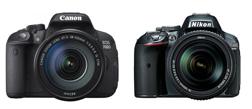Сравнение Canon EOS 700D и Nikon D5300
