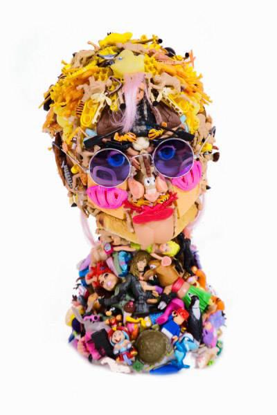 Freya Jobbins 5 Скульптуры из кукол