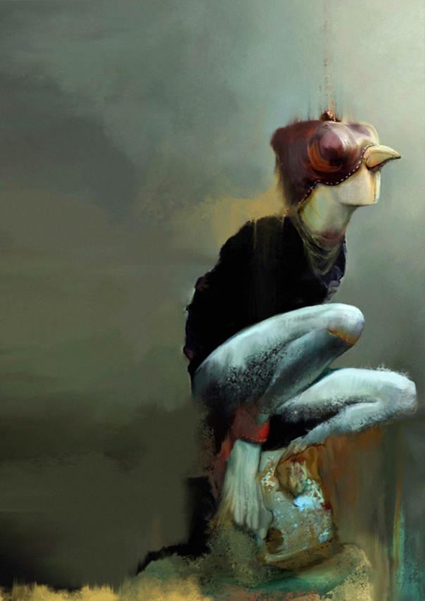 Концептуальные картины Алисии Мартин
