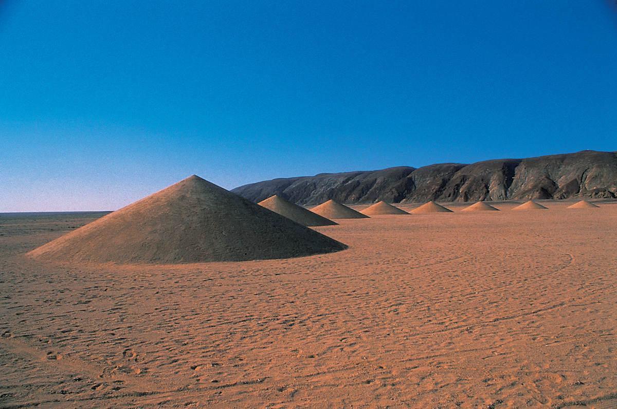 арт проект в Сахаре