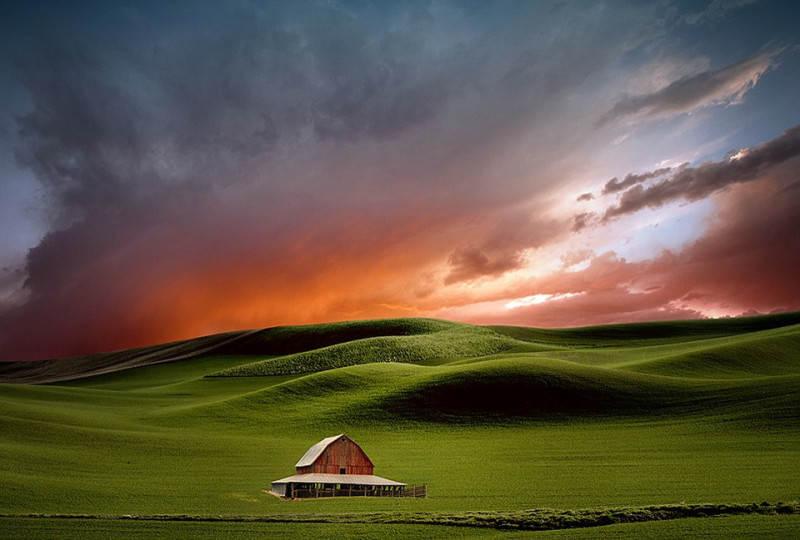 съемка пейзажа