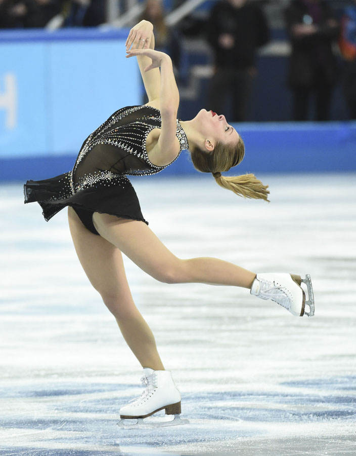 Olympics: Figure Skating-Team Ladies Short Program