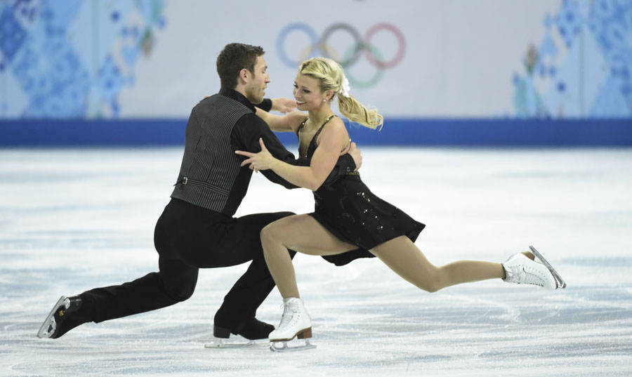 Olympics: Figure Skating-Team Pairs Free Skating
