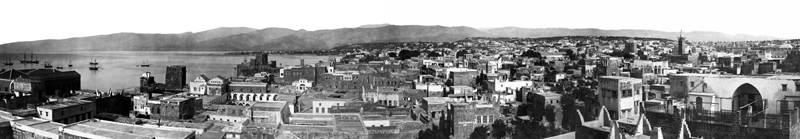 панорама Бейрута 1867 - 1899 Исторические фотографии