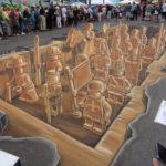 Уличные 3D рисунки