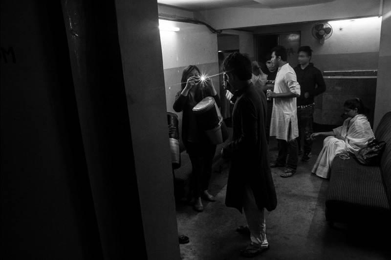 Фотопроект «За кулисами» от Anirban Mukhopadhyay