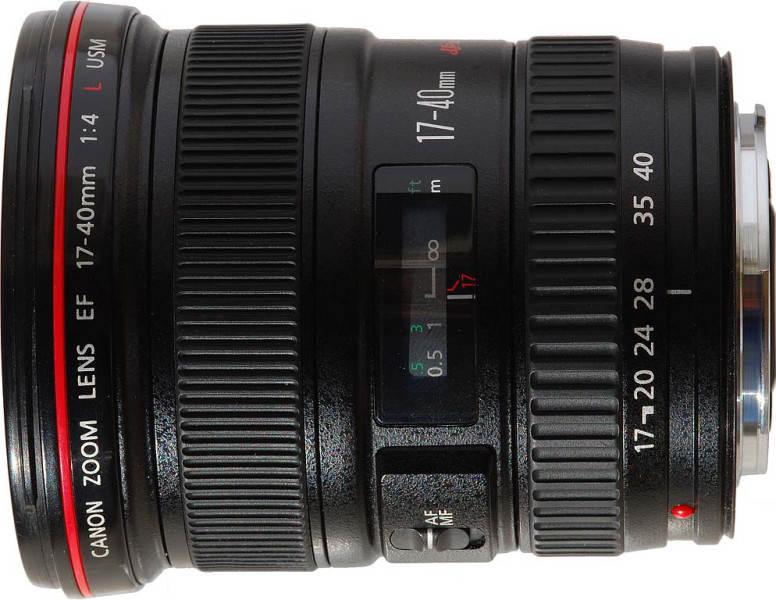 Canon EF 17-40мм f4L USM
