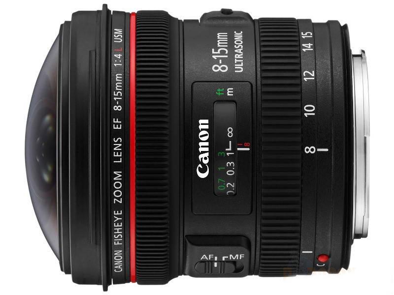 Canon EF 8-15мм f4L Fisheye USM 2