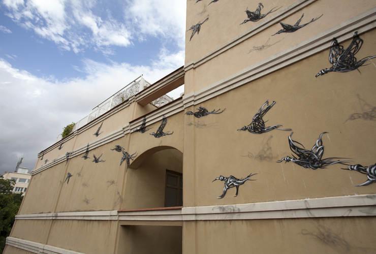 Уличное искусство от DALeast