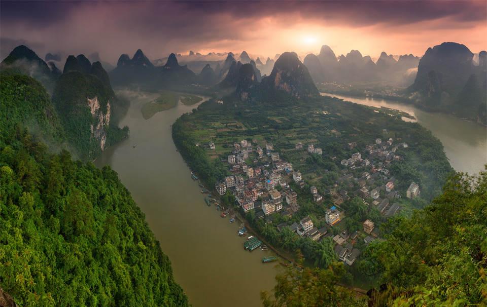 Деревни на реке Ли, Китай