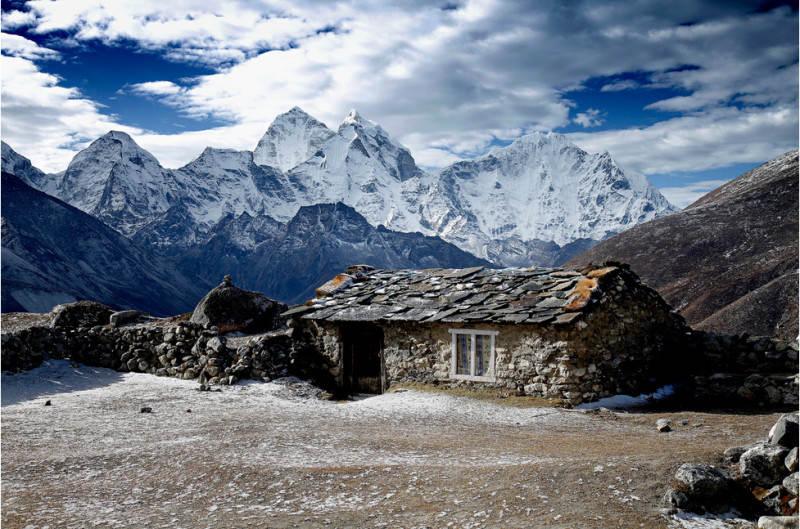 На подходе к Эвересту. Фото: anna carter