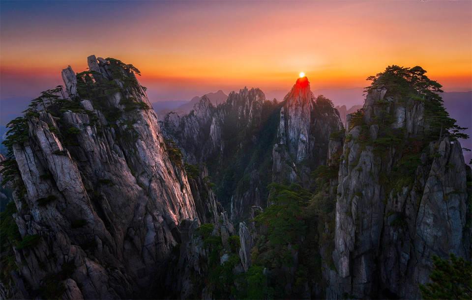 Хуан Шань Фотографии Китая