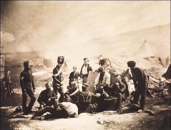 История в фотографиях Фотография Роджера Фентона (Roger Fenton), Крымская война, 1855 год