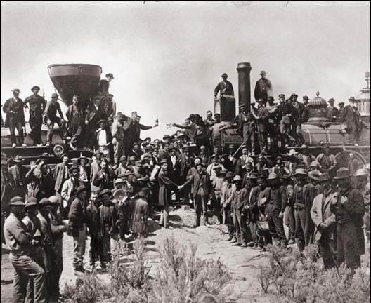 Charles Phelps Cushing Мыс Пойнт 1869 год История в фотографиях