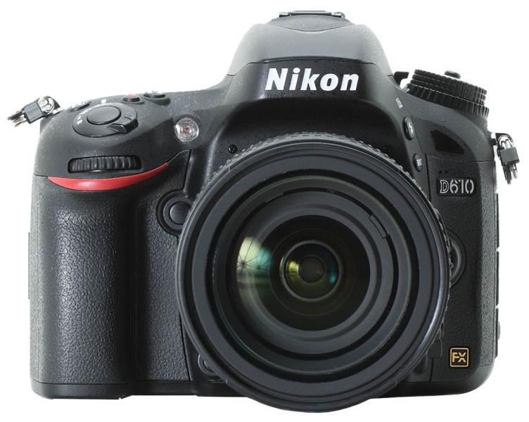 Профессиональный фотоаппарат Nikon D610
