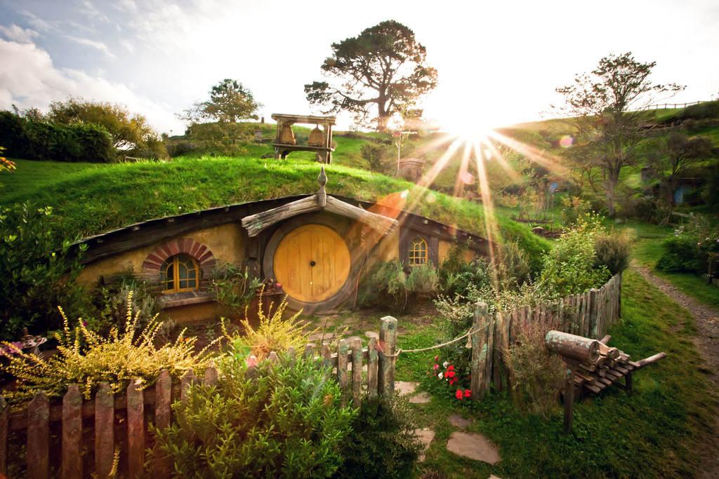Новая зеландия 2 Дом Хоббита