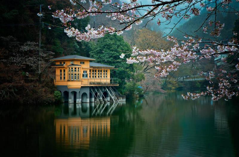 Отражение воды в пейзажной фотографии