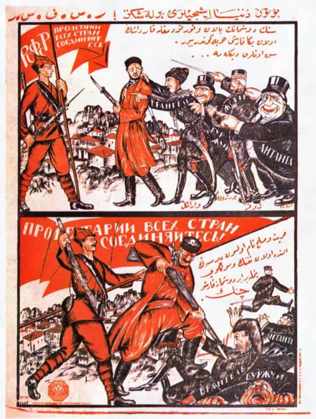 Эстетика советского плаката в довоенные годы