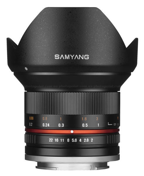 Широкоугольный объектив Samyang 12мм 1:2.0 NCS CS