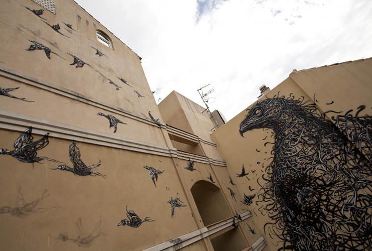 Уличное искусство от DALeast 2