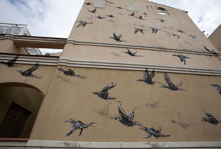Уличное искусство от DALeast 3
