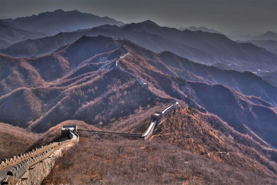 Великая Китайская стена Фотографии Китая