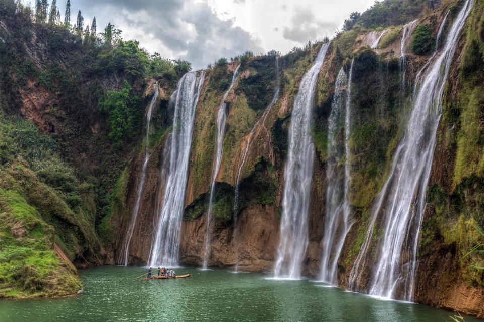 Водопад девяти драконов, Китай