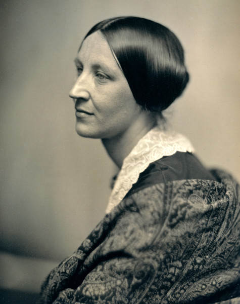 История в фотографиях Фотопортрет неизвестной женщины, 1850 год