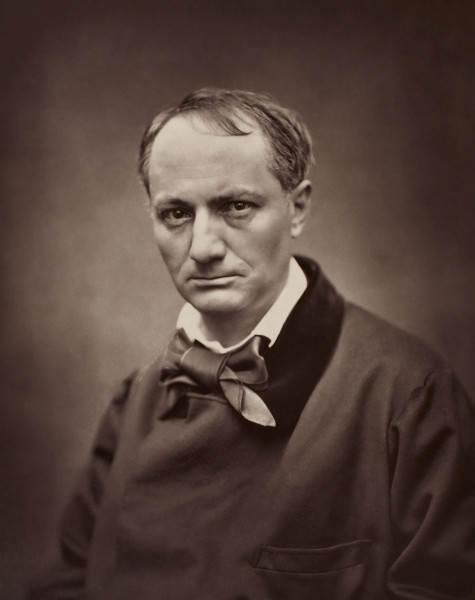 История в фотографиях Фотография Этьен Каржа, портрет Шарля Бодлера, 1862 год