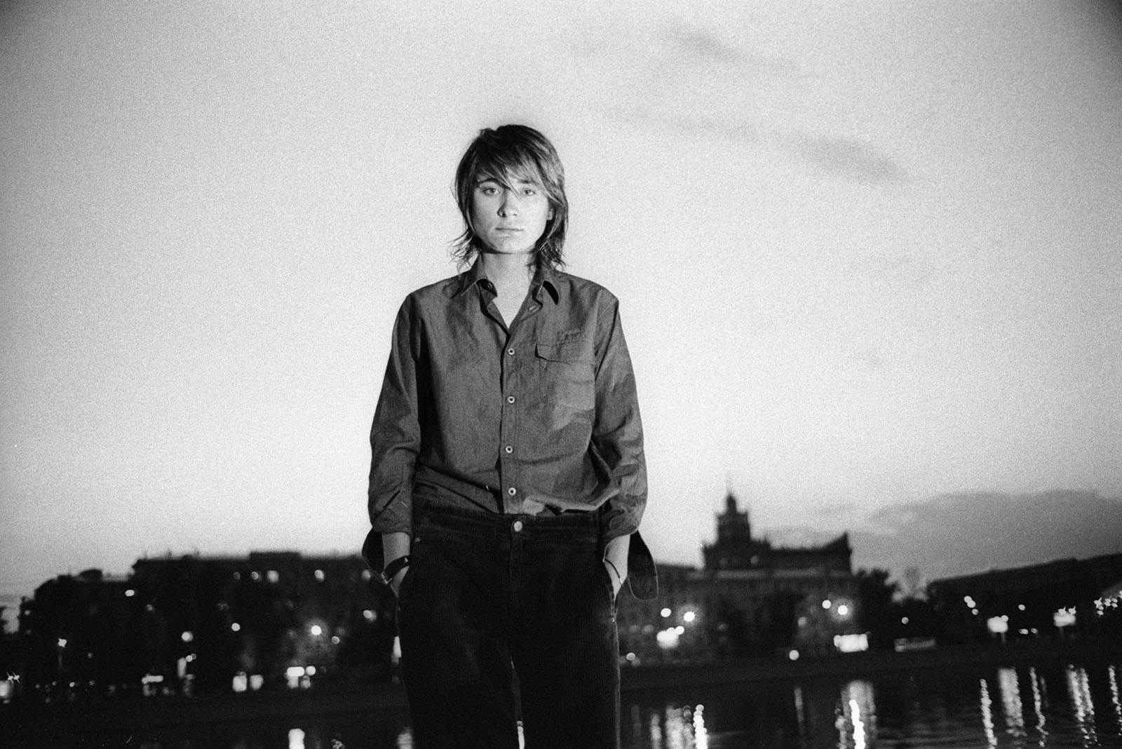 ###Portraits. Singer Zemfira. Moscow 2002.