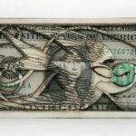 Долларовые скульптуры Скотта Кэмпбелла (Scott Campbell)