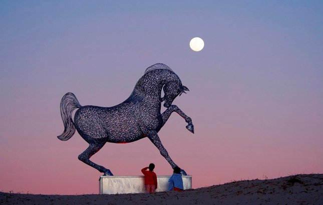 Энди Скотт (Andy Scott) и его скульптуры 5