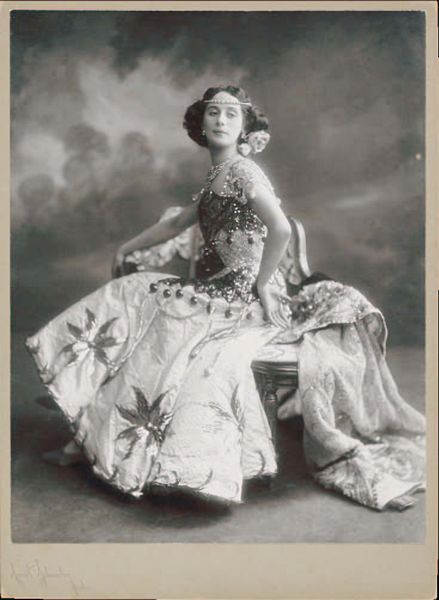 Фотография Анны Павловой, 1910 год