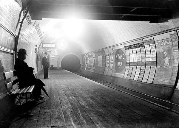 Фотография Лондонского метрополитена, 1890 год