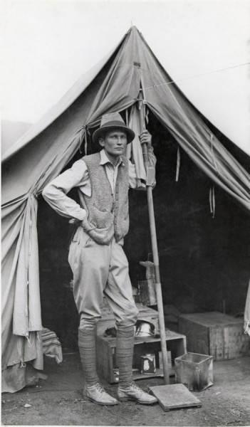 Фотография Хайрама Бингема, 1912 год