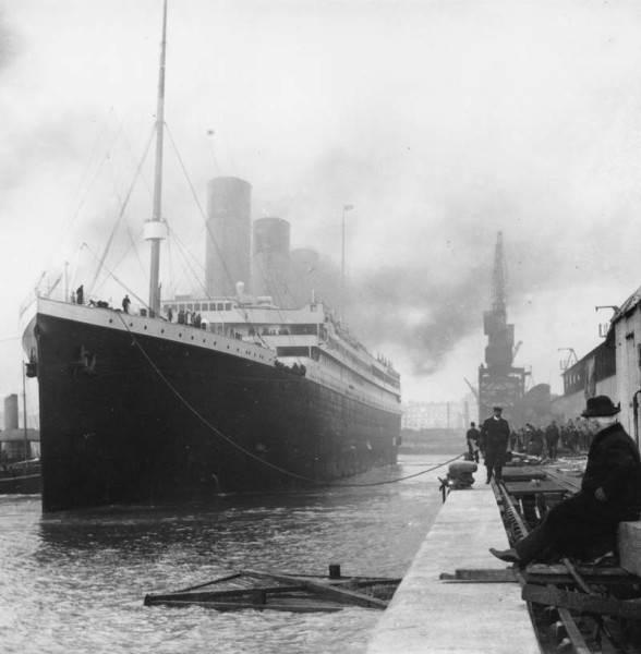 Фотография Титаника, 1912 год