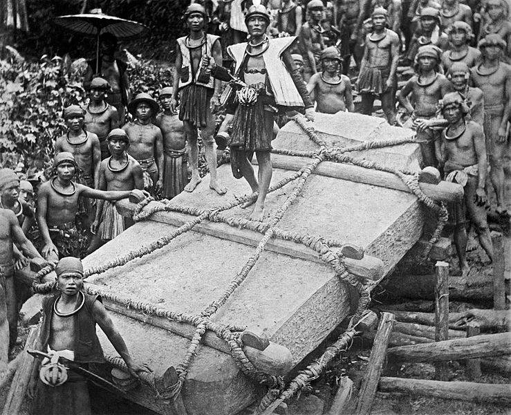 Фотография Людвига Барутта (Ludwig Borutta), мужчины племени маис, 1915 год