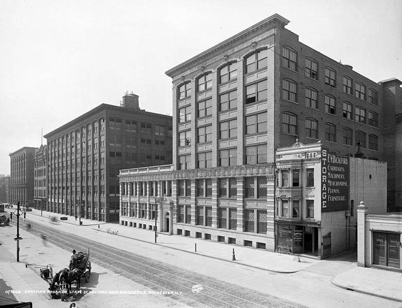 Фотография офиса компании Eastman Kodak Company, 1900 год