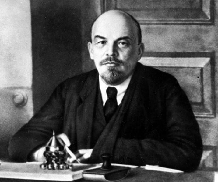 Фотография Владимира Ильича Ленина, года правления 1917 – 1924 года
