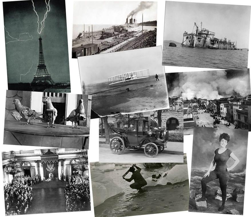 История в фотографиях (1902 — 1909)