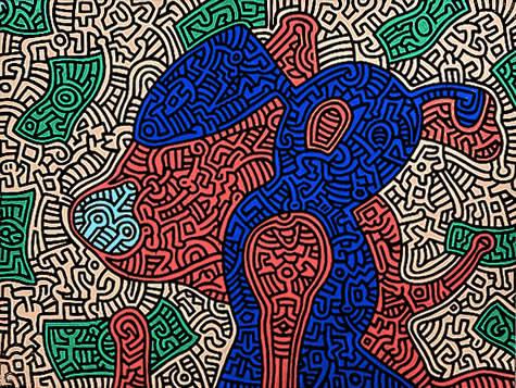 Keith Haring 10