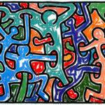 Общественное искусство Кита Харинга (Keith Haring)