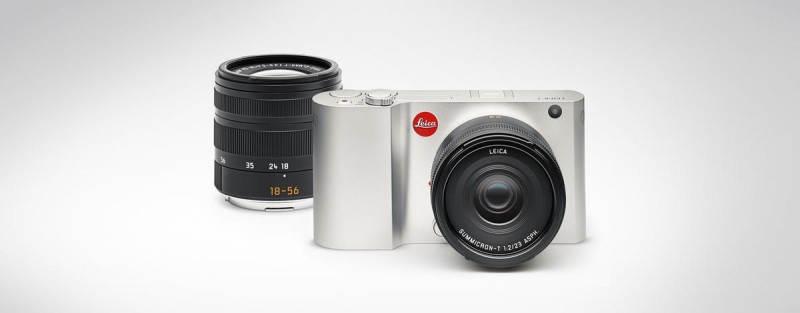 Фотоаппарат Leica T с объективом