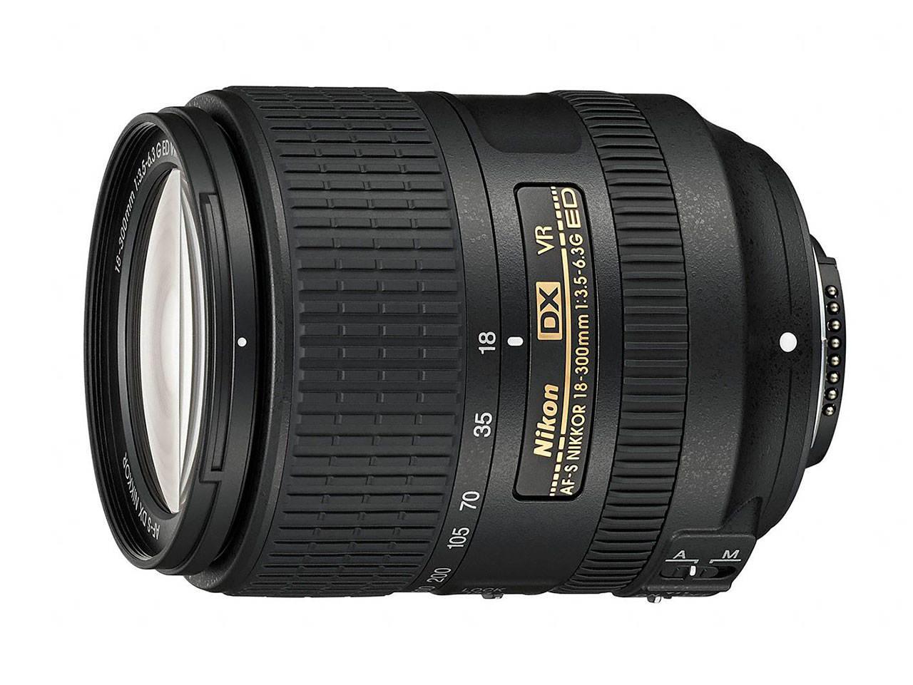 Nikon NIKKOR 18-300 мм F/3.5-6.3 ED VR