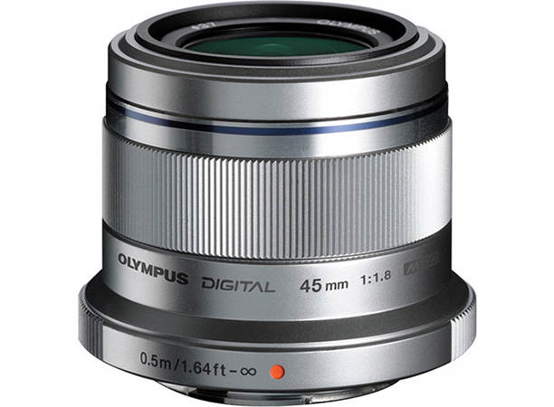 Olympus М. Zuiko Digital ED 45 мм f1.8 объективы Micro Four Thirds