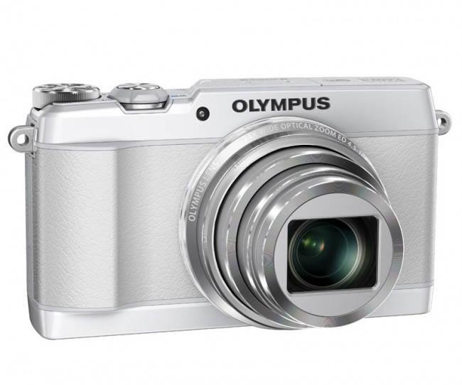 Olympus Stylus SH-1 в белом цвете